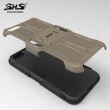 Caisse hybride de téléphone d'armure de Shs pour la perfection de la galaxie J7 de Samsung