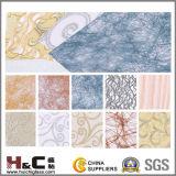 Film stratifié de tissu pour décoratif