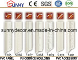 Moldeado de la cornisa de la PU del precio de fábrica y de la cornisa del llano del poliuretano de Coving/para la decoración