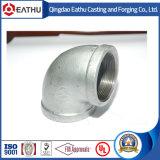 Encaixes de tubulação do ferro maleável de 150 libras por polegada quadrada usados na construção civil