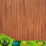 床のためのカラー相違の木製の穀物の装飾的なペーパー無し