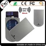 신용 카드 사용과 알루미늄 소성 물질 신용 카드 홀더