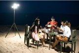 태양 에너지 가벼운 쉬운 임명 12V LED 바늘 전구 망원경 옥외 낚시대 야영 야영 빛