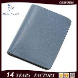 5 colores tarjeta de bolsillo Mini moda de cuero del clip del dinero carpeta de los hombres