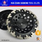 Колесо чашки спекать этапа формы t Huazuan 7 '' горячее отжатое меля