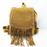 Fashion Fringe Backpack der Qualitäts-Dame