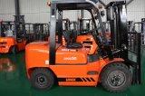 caminhão de Forklift 3.5ton Diesel com transmissão hidráulica e motor C240 de Isuzu, acessórios para exigências personalizadas