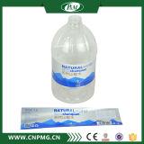 Étiquette adhésive imperméable à l'eau de qualité pour les bouteilles en plastique