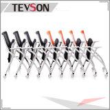 Leitprogramm-zufrieden stellender Schaumgummi-Büro-Ineinander greifen-Stuhl mit faltbarem Sitzbeutel