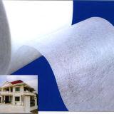 Couvre-tapis blanc de tissu de fibre de verre d'E-Glace de résistance dissolvante