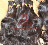 Выдвижение волос Unprocessed естественных надкожиц Remy девственницы неповрежденное