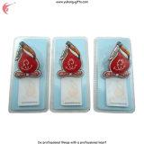 Kundenspezifischer Kühlraum-Magnet mit Blasen-Karte und Papier-Notizbuch (YH-FM099)