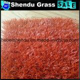Bestseller-buntes rotes Gras künstlich