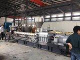 PET Mischungs-Gummistrangpresßling, der Maschinen mit Luftkühlung-Zeile aufbereitet