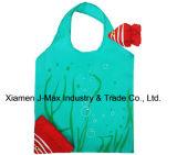 Sac promotionnel d'achats pliables, type animal de poissons, sacs réutilisables, légers, d'épicerie et maniable, cadeaux, accessoires et décoration