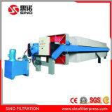 Machine automatique à haute pression de filtre-presse de chambre