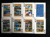 Tarjetas que juegan del papel de Algarve