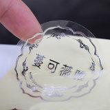 Custom Transparent Clear vinilo adhesivo fabricante de pegatinas