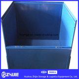 Metallablagekasten, den alle Seiten und Falten sich öffnen