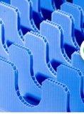 Doos van het Polypropyleen pp Corflute Correx Coroplast van de scheiding en van de Bescherming de Zwarte Blauwe Witte