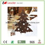 Pieu décoratif de jardin de silhouette de bonhomme de neige en métal pour la décoration extérieure de Noël