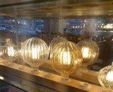 lâmpadas do bulbo do filamento da decoração do diodo emissor de luz da abóbora de 2W G125 110V 220V