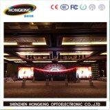 Visualización de LED de interior vendedora caliente P4 para hacer publicidad
