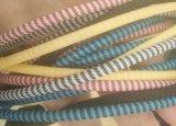 Цветастой сплетенный тканью зарядный кабель данным по USB для приспособлений USB молнии микро-