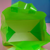 Мешок хозяйственной сумки HDPE прозрачный пластичный/мягко ручки петли