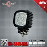 E-MARK ha approvato 5 l'indicatore luminoso del lavoro di guida di veicoli di pollice 48W LED