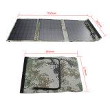 30W는 옥외 야영을%s Foldable 태양 충전기를 방수 처리한다