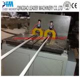 Linha de produção da extrusão da tubulação do cabo do PVC que faz a planta da máquina