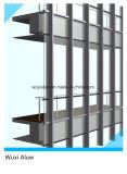 Mur rideau Semi-Caché par qualité de bâti