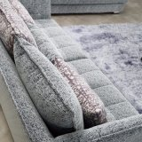 Софа самомоднейшей конструкции секционная с тканью высокого качества для живущий мебели комнаты - Fb1115