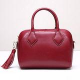 Sac de vente chaud de Shoulde d'emballage de sac à main de cuir véritable de 2017 femmes avec la courroie large Emg5020