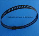 316 Banden 4.6*450 van de Kabel van de Band van het Roestvrij staal van het Slot van de bal de Zelf