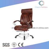 Schöner lederner Büro-Stuhl