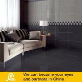 熱い販売の純粋な床および壁モノラルカラー黒のためのカラーによって磨かれる磁器のタイル
