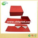 주문 자석 마감 (CKT-CB-708)를 가진 로고에 의하여 인쇄되는 편평한 선물 상자