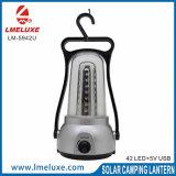 42 PCS LED recarregável lâmpada de acampamento de emergência