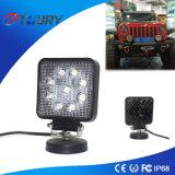 Van de LEIDENE van het aluminium het Licht Auto LEIDENE van de Lamp 27W Lamp van het Werk voor de Motorfiets van de Tractor
