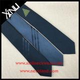 Связи Mens изготовленный на заказ сплетенные жаккардом Silk Linen тощие тонкие
