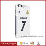 A qualidade personaliza a caixa do telefone móvel da impressão da estrela de basquetebol das estrelas de futebol