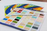 주문을 받아서 만드는 접히는 페인트 색깔 카탈로그 인쇄