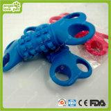 O osso TPR do furo do animal de estimação quatro brinca o produto do animal de estimação