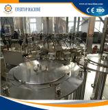 Cadena de producción del agua del gas de la máquina de rellenar del agua de soda