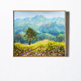Картина маслом ландшафта искусствоа стены фотоих гор