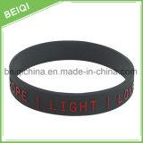 Aucun bracelet bon marché de /Silicone de bracelet de silicium de bonne qualité de MOQ