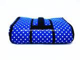 PEVAのハンドル平らなCoolerbagが付いている波ポイントパターン600d