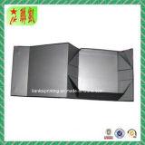 Schwarzer magnetischer faltender Papppapierkasten für Geschenk-Verpackung